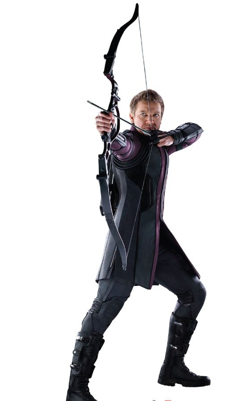 Custom Made Hawkeye Costume by Alexandra Byrne (Costume Designer) in Avengers: Age of Ultron