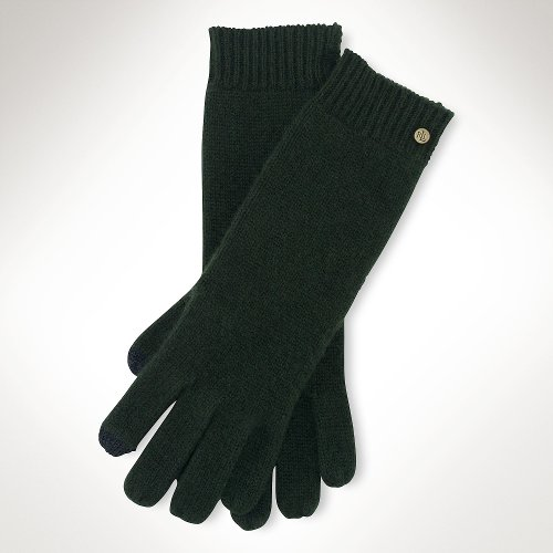Cashmere Touch Gloves by Ralph Lauren in If I Stay