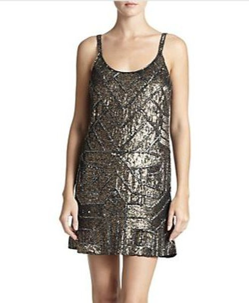 Black Sequined Tank Dress by Parker in That Awkward Moment