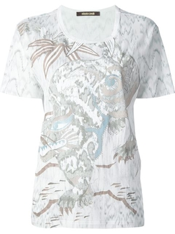 Printed T-Shirt by Roberto Cavalli in Scandal