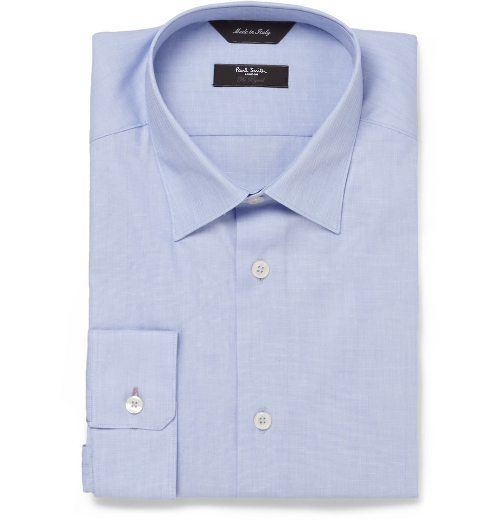Blue Byard Cotton Shirt by Paul Smith London in The Gift