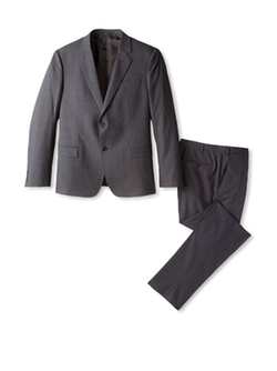 Two Button Notch Lapel Suit by Armani Collezioni in The World is Not Enough