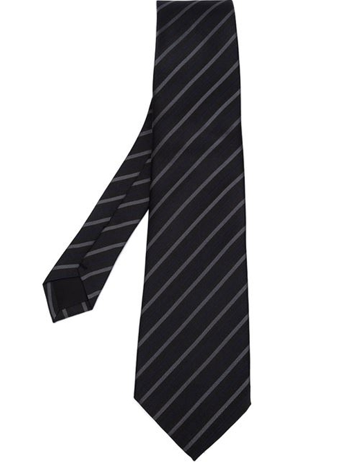 Striped Pointed Tip Tie by Junya Watanabe Comme Des Garçons Man in Scandal - Season 5 Episode 5