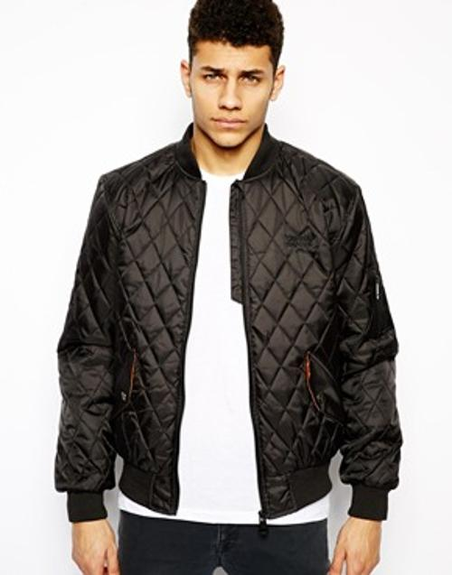 Quilted Bomber Jacket by CRIMINAL DAMAGE in Dawn of the Planet of the Apes