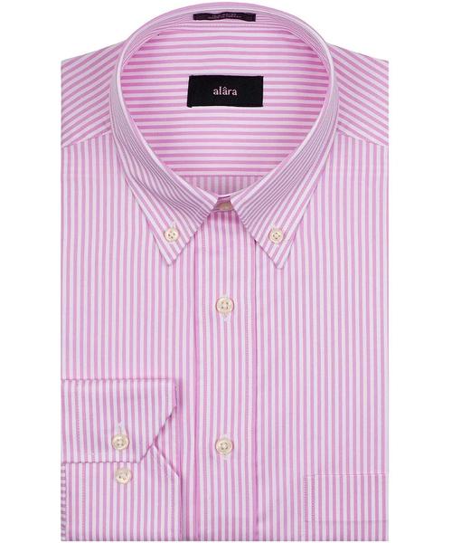 Lux Poplin Pencil Stripe Shirt by Alara in A Bigger Splash