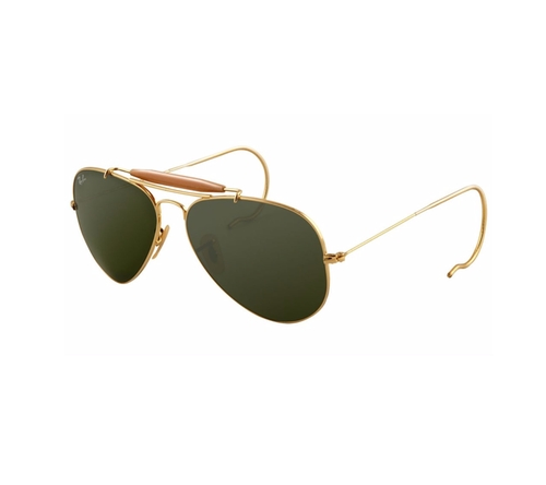 Outdoorsman 3030 Aviator Sunglasses by Ray-Ban in Eddie The Eagle