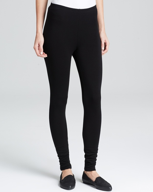 Fleece Leggings by Eileen Fisher in Thor