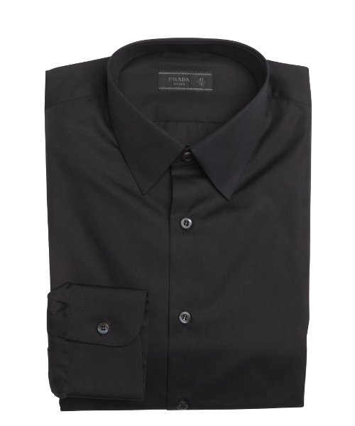 Cotton Point Collar Dress Shirt by Prada in The Man from U.N.C.L.E.