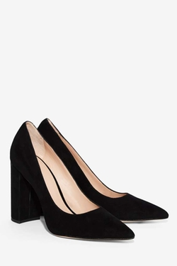 Celina Suede Pumps by Pour La Victoire in Elementary