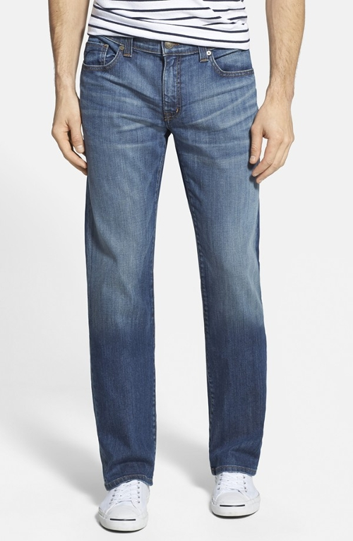 Straight Leg Denim Jeans by Fidelity Denim in Ex Machina