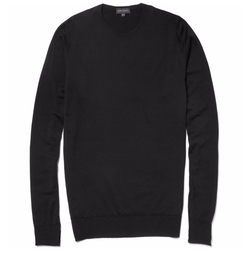 Marcus Crew Neck Merino Wool Sweater by John Smedley in House of Cards