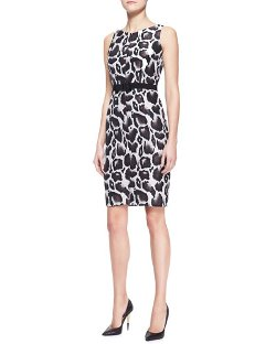 Animal Jacquard Dress by Paule Ka	 in Only God Forgives
