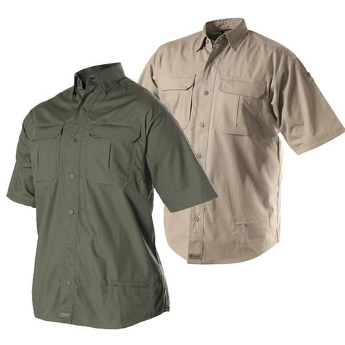 Lightweight Short Sleeve Tactical Shirt by Blackhawk Warrior Wear in The Gunman