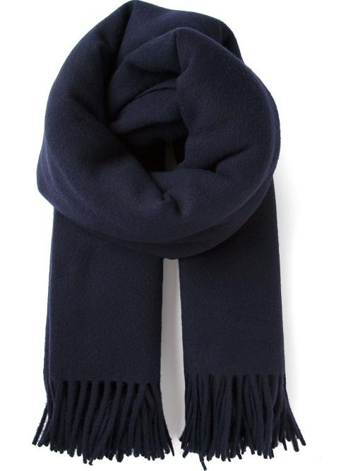 'Alaska' Fringed Scarf by Acne Studios in The Dark Knight Rises