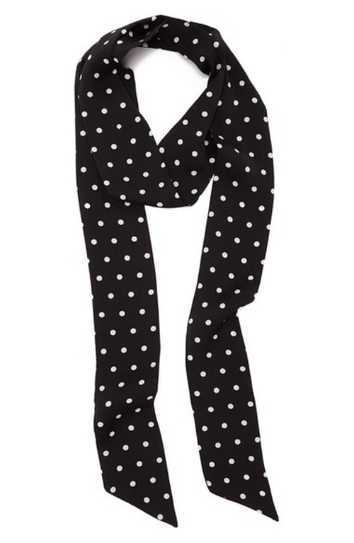 Dot to Dot Skinny Scarf by Collection XIIX in Popstar: Never Stop Never Stopping