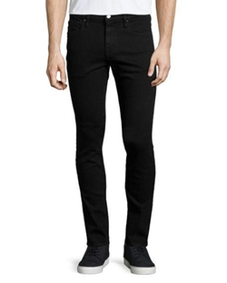 L'Homme Noir Skinny-Leg Jeans  by Frame Denim  in Mr. Robot