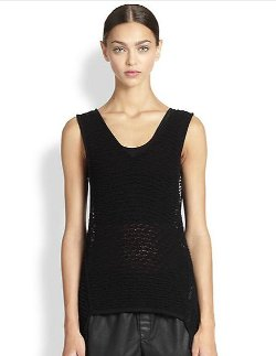 Crepe Gauze Knit Tank Top by Helmut Lang in The Divergent Series: Insurgent