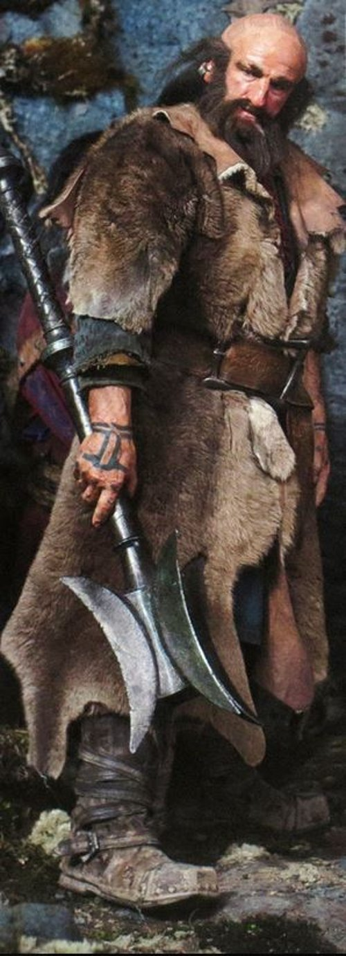 Custom Made Dwalin Costume by Ann Maskrey & Bob Buck (Costume Designer) in The Hobbit: The Battle of The Five Armies