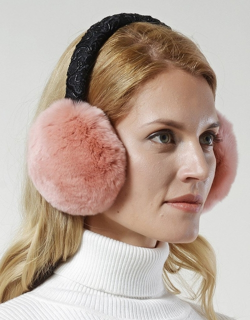Lace Band Earmuffs by Nice Glory in Scream Queens - Season 1 Episode 9