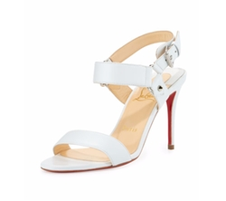 Sova Leather Sandal by Christian Louboutin in Girls Trip