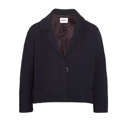 Becci Cropped Crepe Jacket by Issa in The Boss
