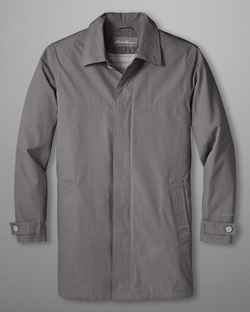 Eddie Microtherm Trench Coat by Eddie Bauer in The Departed