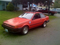 1987 Corolla SR5 Car by Toyota in Bridesmaids