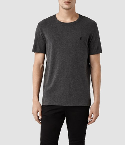 Brace Tonic Crew T-Shirt by AllSaints in Fifty Shades of Grey