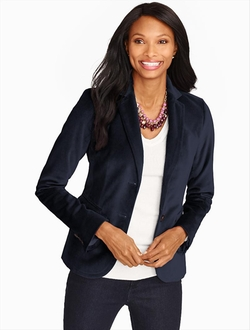 Winter Velvet Blazer by Talbots in The Flash