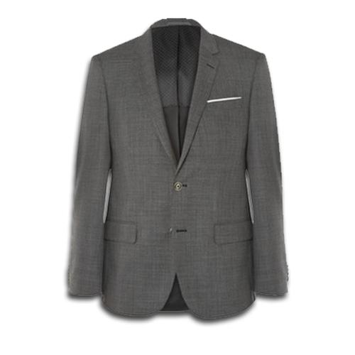Slim-Fit Virgin Wool Suit by Hugo Boss in Suits - Season 5 Episode 15