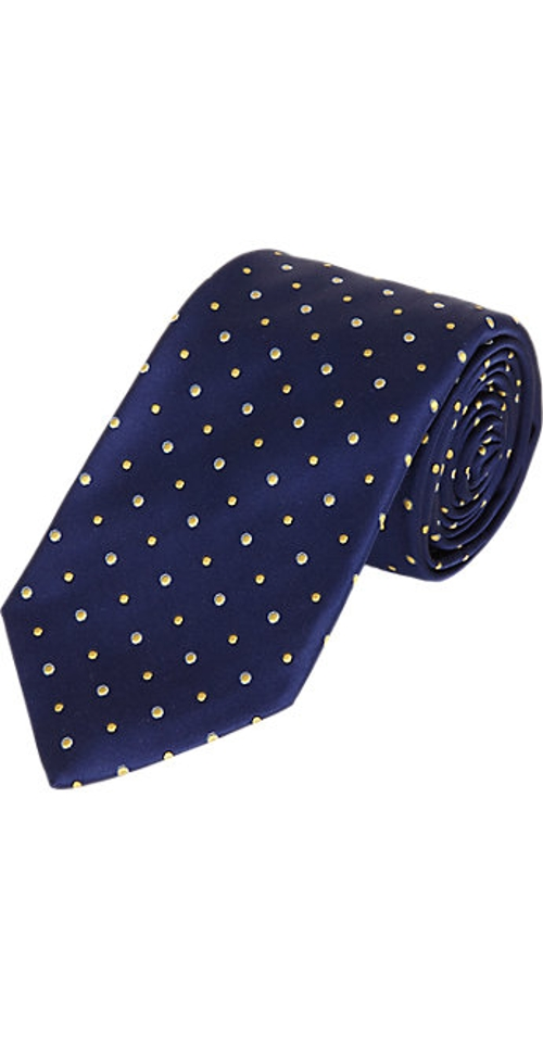 Pin Dot-Pattern Neck Tie by Barneys New York in While We're Young