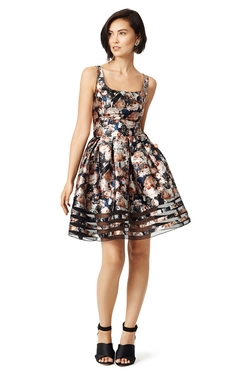 Full Bouquet Dress by Sachin & Babi in Black-ish
