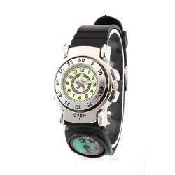 Casual Sport Wrist Compass Rubber Watchband by Coolicool in St. Vincent
