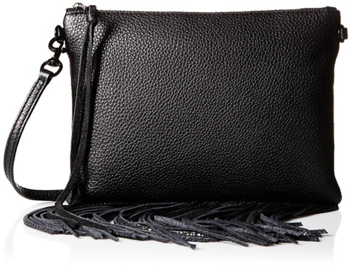 Fringe Jon Cross-Body Bag by Rebecca Minkoff in Pretty Little Liars - Season 6 Episode 16