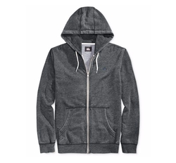 Zipper-Front Drawstring Hoodie by Quiksilver in Animal Kingdom