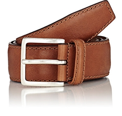 Leather Belt by Barneys New York in Quantico
