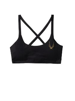 Core Performance Sports Bra by Lucas Hugh in Entourage