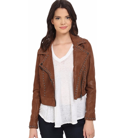 Rocky Rode Jacket by Blank NYC in Pretty Little Liars - Season 7 Episode 10