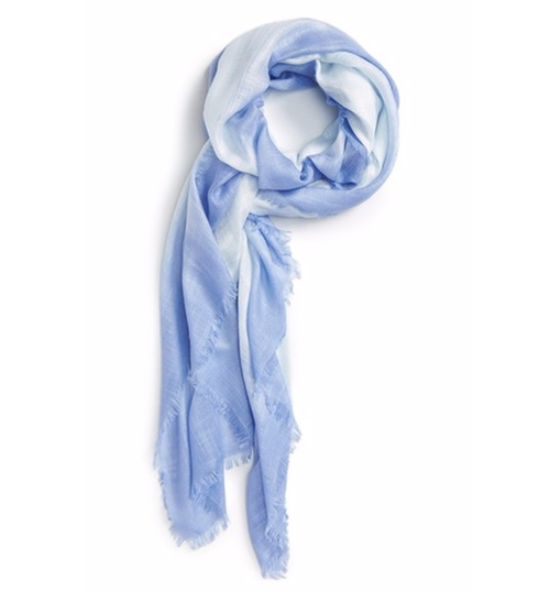 Dip Dye Wrap Scarf by Nordstrom in The Girl on the Train