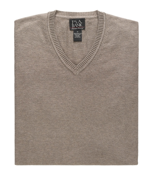 Signature Pima Cotton Sweater Vest by Jos A. Bank in Fantastic Four