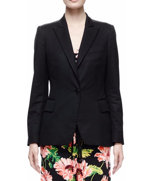Replen One-Button Jacket by Stella McCartney in Keeping Up With The Kardashians - Season 12 Episode 11