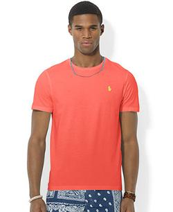 Classic Crew-Neck T-Shirt by Polo Ralph Lauren in A Good Day to Die Hard