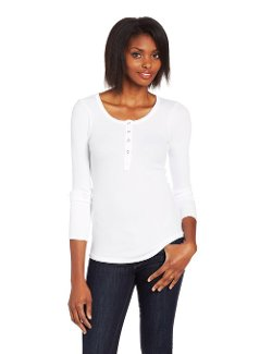 Women's Thermal Long Sleeve Henley Shirt by Splendid in Fast & Furious 6