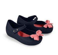 Infant's Ultragirl Bow Mary Jane Flats by Mini Melissa in Neighbors