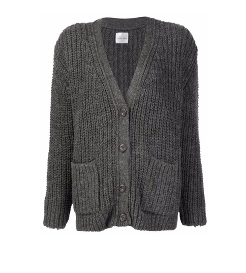 Loose Fit Cardigan by Anine Bing in Guilt