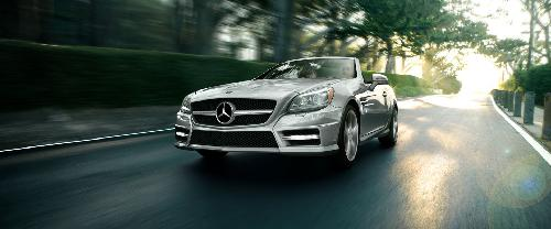 SLK by Mercedes-Benz in The Other Woman