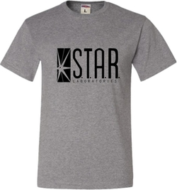 Adult Star Labs T-Shirt by Go All Out Screenprinting in The Flash