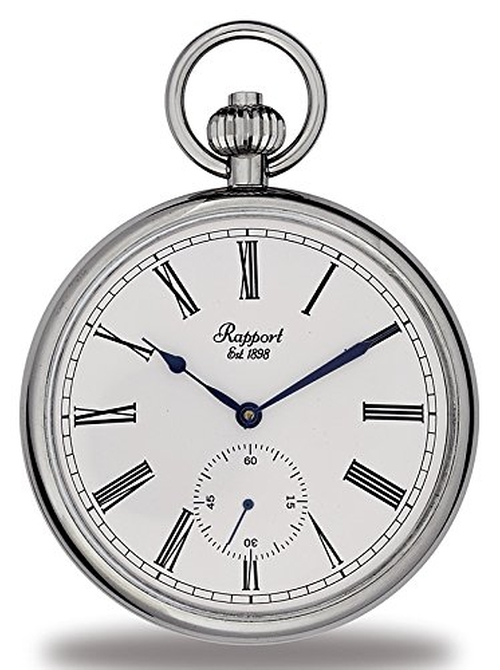 Silver Tone Pocket Watch by Rapport London in The Walk