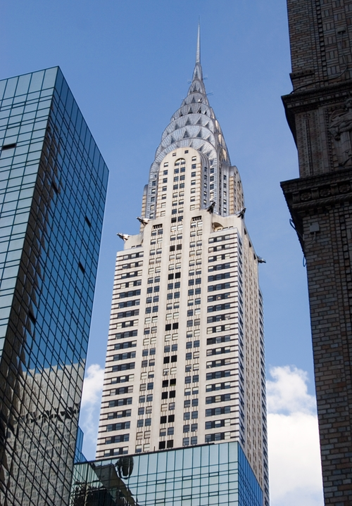 Chrysler Building New York City, New York in Confessions of a Shopaholic