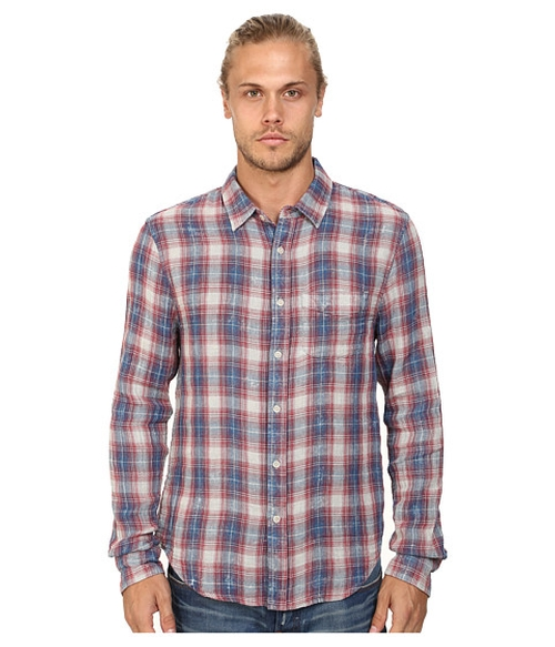 Relaxed Single Pocket Woven Shirt by Joe's Jeans in Inherent Vice